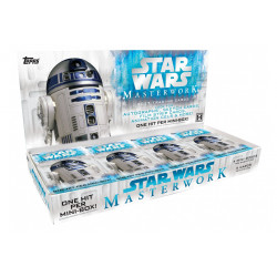 STAR WARS MASTERWORKS TOPPS 2017 TRADING CARDS BOX