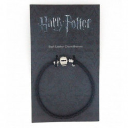 LEATHER BRACELET FOR HARRY POTTER SLIDER CHARMS SIZE SMALL
