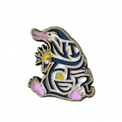 ENAMELLED NIFFLER FANTASTIC BEASTS PIN BADGE