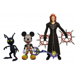 MICKEY AXEL AND SHIDOW KINGDOM HEARTS SELECT SERIES 1 ACTION FIGURE