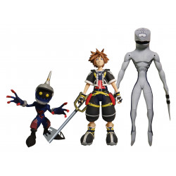 SORA DUSK AND SOLDIER KINGDOM HEARTS SELECT SERIES 1 ACTION FIGURE