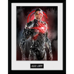 CYBORG JUSTICE LEAGUE MOVIE DC COMICS COLLECTOR FRAME 45 X 34 CM