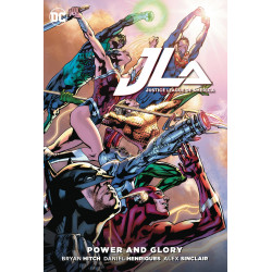 JUSTICE LEAGUE POWER GLORY TP