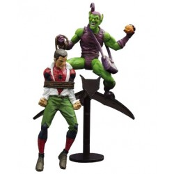 MARVEL SELECT - GREEN GOBLIN & PETER PARKER CLASSIC - ACTION FIGURE