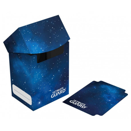 DECK CASE 80 DOUBLE SLEEVED CARD STANDARD MYSTIC SPACE EDITION CASE