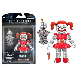 BABY FIVE NIGHTS AT FREDDY'S SISTER LOCATION ACTION FIGURE