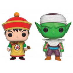 GOHAN AND PICCOLO DRAGON BALL Z POP! ANIMATION 2 PACK VYNIL FIGURE