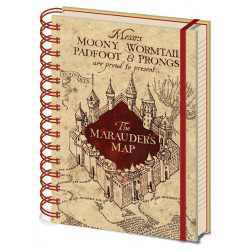 HARRY POTTER THE MARAUDERS MAP A5 WIRO NOTEBOOK