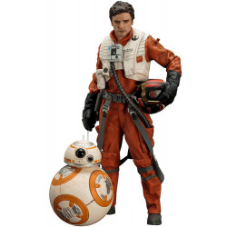 POE DAMERON AND BB-8 STAR WARS THE FORCE AWAKENS ARTFX TWO PACK FIGURE