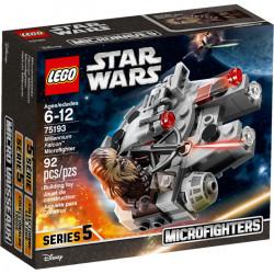 MILLENIUM FALCON MICROFIGHTER STAR WARS LEGO BOX 75193
