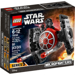 FIRST ORDER TIE FIGHTER MICROFIGHTER STAR WARS LEGO BOX 75194