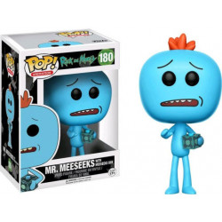 MR MEESEEKS WITH BOX RICK & MORTY FUNKO POP! VYNIL