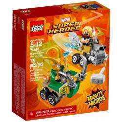 THOR VS LOKI MARVEL MIGHTY MICROS LEGO 76091