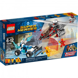 SPEED FORCE FREEZE PURSUIT DC SUPER HEROES LEGO 76098