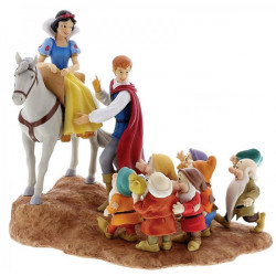 SNOW WHITE PRINCE AND THE SEVEN DWARFS DISNEY ENCHANTING COLLECTION FIGURE
