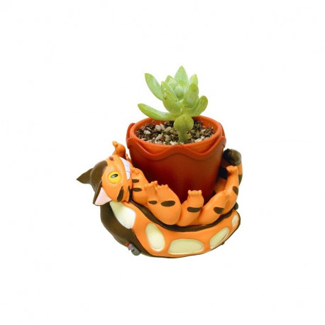 MON VOISIN TOTORO CHATBUS PLAYING MINI POT / PLANTER