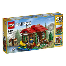 LA CABANE AU BORD DU LAC LEGO CREATOR BOX 31048