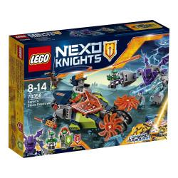 LE DESTRUCTEUR DE PIERRE D'AARON LEGO NEXO KNIGHT BOX 70358