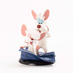 PINKY AND THE BRAIN TAKING OVER THE WORLD QFIG TOONES BY QMX FIGURE