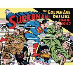 SUPERMAN THE GOLDEN AGE NEWSPAPER DAILIES HC 1944-1947