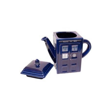 DOCTOR WHO - TARDIS - TEAPOT