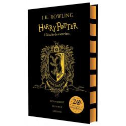 HARRY POTTER A L'ECOLE DES SORCIERS - EDITION 20 ANS POUFSOUFFLE