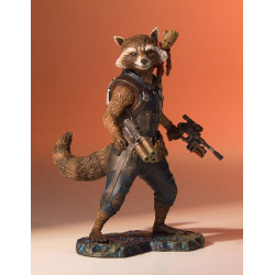 ROCKET AND GROOT GUARDIANS OF THE GALAXY VOL 2 MARVEL COLLECTOR'S GALLERY STATUE