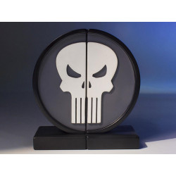 THE PUNISHER MARVEL COLLECTIBLE LOGO BOOKENDS