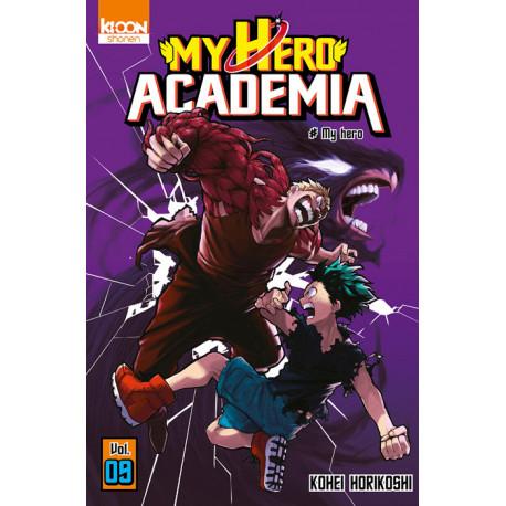 MY HERO ACADEMIA T09