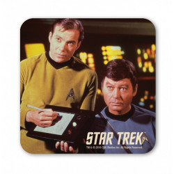 STAR TREK KIRK AND MCCOY COASTER