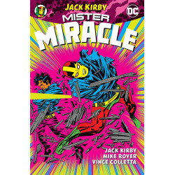 MISTER MIRACLE BY KIRBY