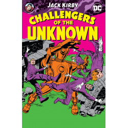 CHALLENGERS OF THE UNKNOWN BY KIRBY