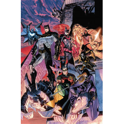 BATMAN DETECTIVE COMICS TP VOL 6 FALL OF THE BATMEN REBIRTH