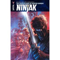 NINJAK VOL SEVEN BLADES OF MASTER DARQUE