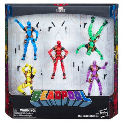 DEADPOOL RAINBOW SQUAD MARVEL LEGENDS 5 PACK ACTION FIGURES