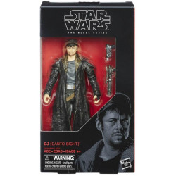 DJ CANTO BIGHT STAR WARS THE BLACK SERIES 6 INCH ACTION FIGURE