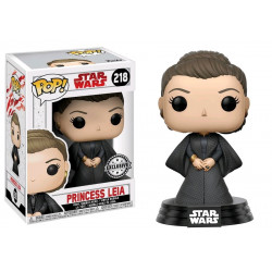 PRINCESS LEIA STAR WARS EPISODE 8 POP! VINYL BOBBLE FIGURE