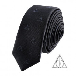 DEATHLY HALLOWS HARRY POTTER DELUXE NECKTIE WITH PIN