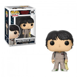 GHOSTBUSTER MIKE STRANGER THINGS POP! TELEVISION VYNIL FIGURE