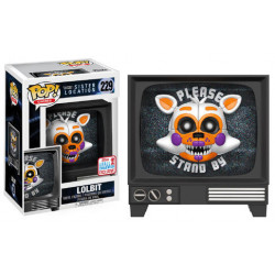 LOLBIT FIVE NIGHTS AT FREDDYS SISTER LOCATION POP! GAMES VINYL FIGURE