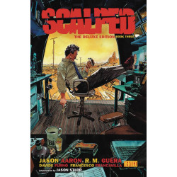 SCALPED DELUXE ED BOOK 3 HC