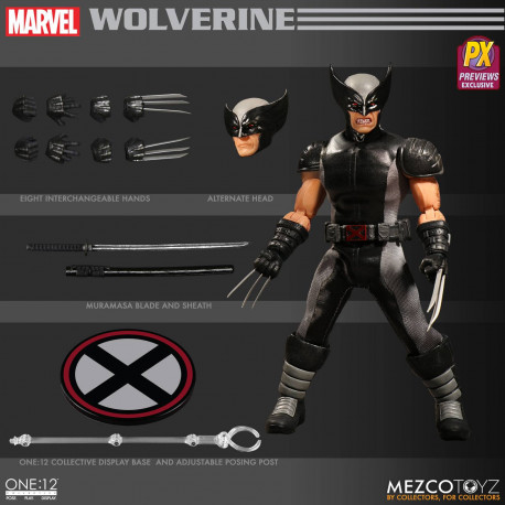 WOLVERINE X-FORCE ONE-12 COLLECTIVE MARVEL PX EXCLUSIVE ACTION FIGURE