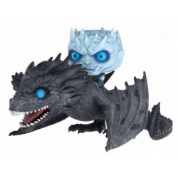 NIGHT KING & ICY VISERION FUNKO POP! RIDES GAMES OF THRONES 58