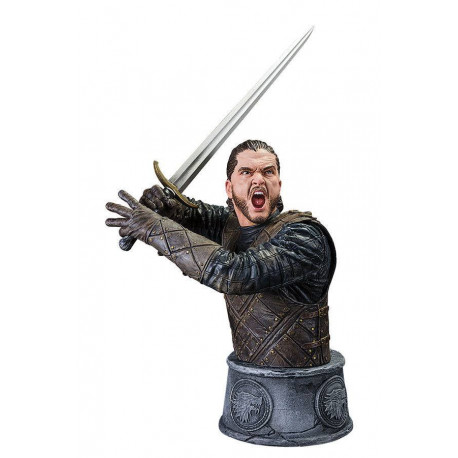 JON SNOW BATTLE OF THE BASTARDS GAME OF THRONES BUST