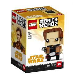 HAN SOLO STAR WARS LEGO BRICK HEADZ 41608