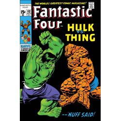 TRUE BELIEVERS FANTASTIC FOUR HULK VS THING 1
