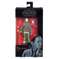REY ISLAND JOURNEY STAR WARS THE BLACK SERIES 6 INCH ACTION FIGURE
