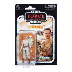 REY JAKKU STAR WARS THE FORCE AWAKENS VINTAGE COLLECTION ACTION FIGURE
