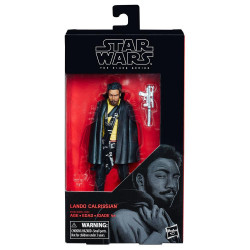 LANDO CALRISSIAN STAR WARS THE BLACK SERIES 6 INCH ACTION FIGURE