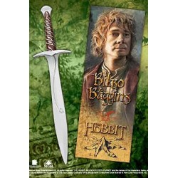 THE HOBBIT AN UNEXPECTED JOURNEY STING PEN AND BOOKMARK
